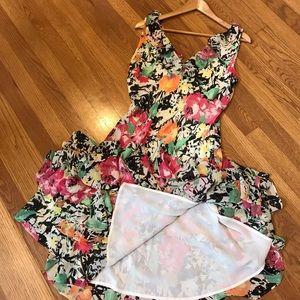 Ralph Lauren Sleeveless Floral Dress